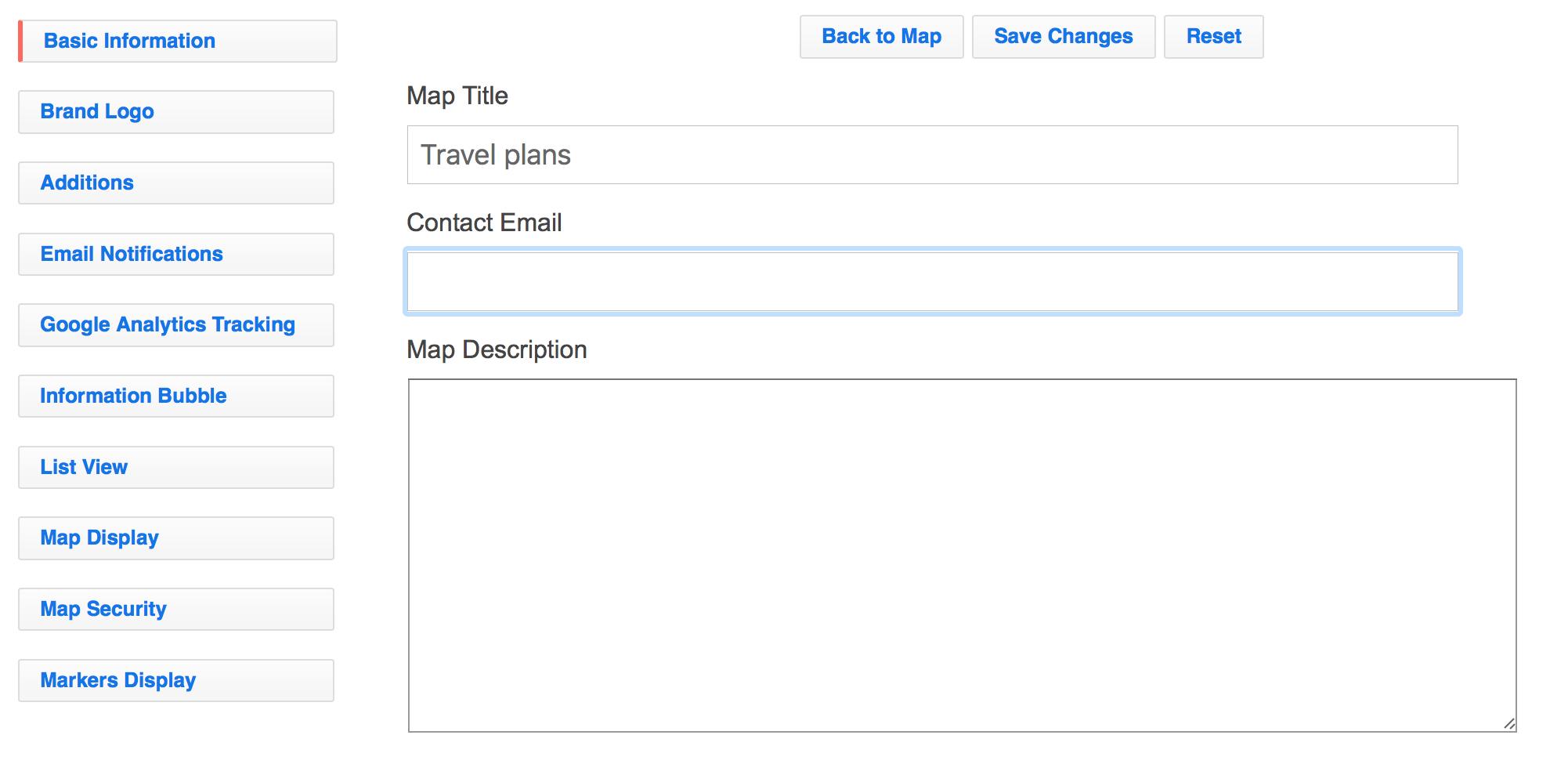 Customizing a map - Help